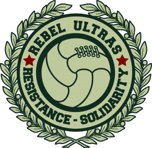 This is the Rebel Ultras Header Logo