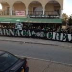 Souvenir Picture Outside G9 Fanclub in Larnaca