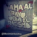 Grafitti against racism