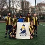 before a Karşı Lig game - Freedom for children