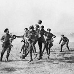 Armistice Day football match between Germany and Britain